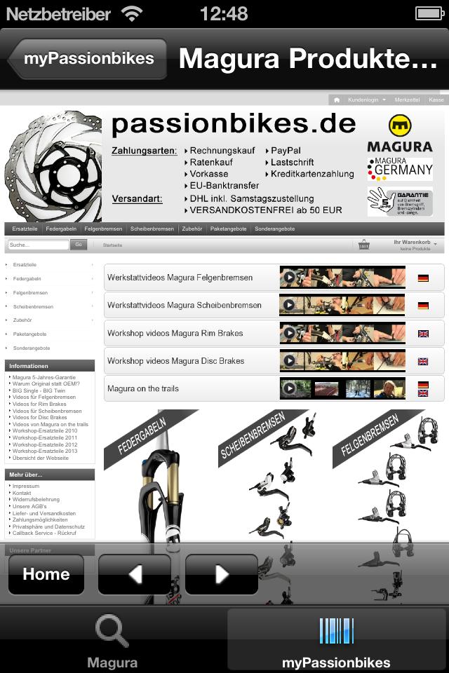 Übersicht myPassionbikes