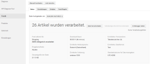 Google Datenfeed für Google Merchant Center