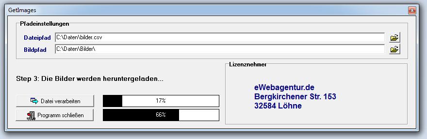 Bilder automatisiert vom Webserver runterladen